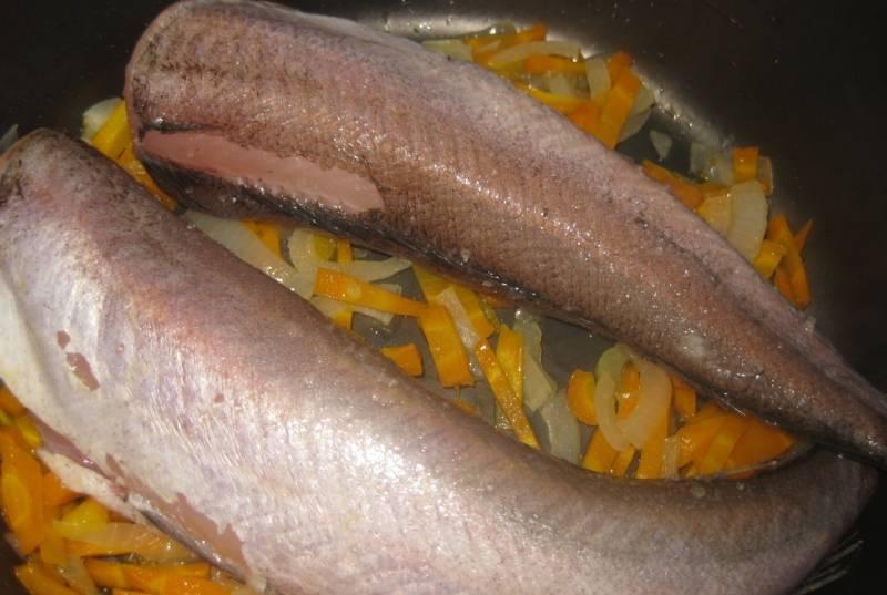 Рыба с овощами в мультиварке - пошаговый рецепт с фото на