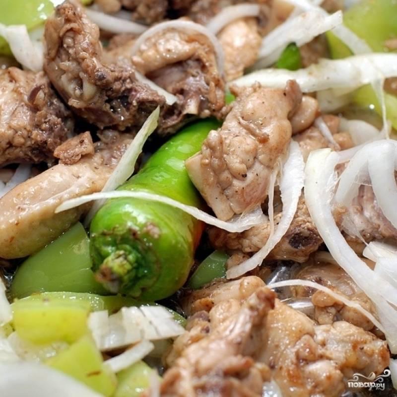 Курица с арахисом - пошаговый рецепт