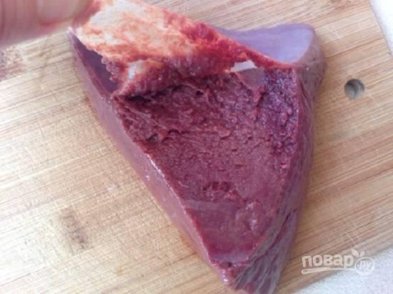 Салат из печени слоями - пошаговый рецепт с фото на