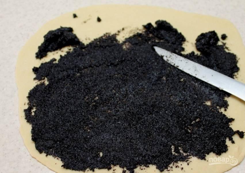 Печенье с маковой начинкой - пошаговый рецепт с фото на