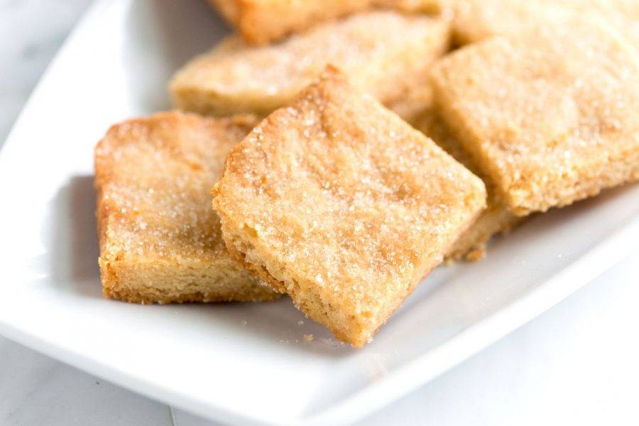 Домашнее песочное печенье - пошаговый рецепт