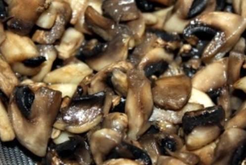 Запеченные баклажаны с грибами - пошаговый рецепт