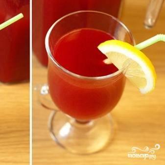 Кисель из брусники - пошаговый рецепт с фото на