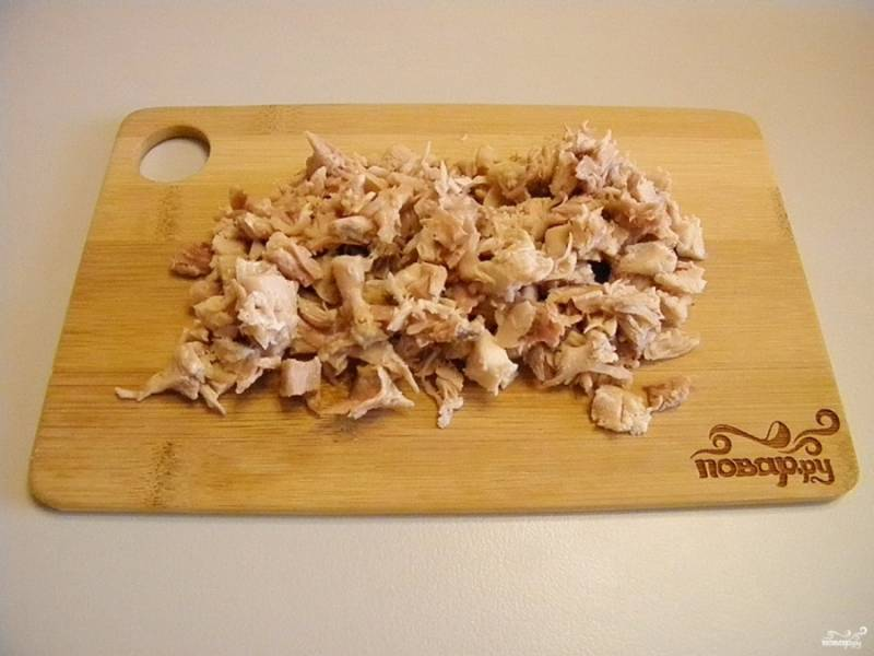 Салат - Столичный - с курицей - пошаговый рецепт с фото на