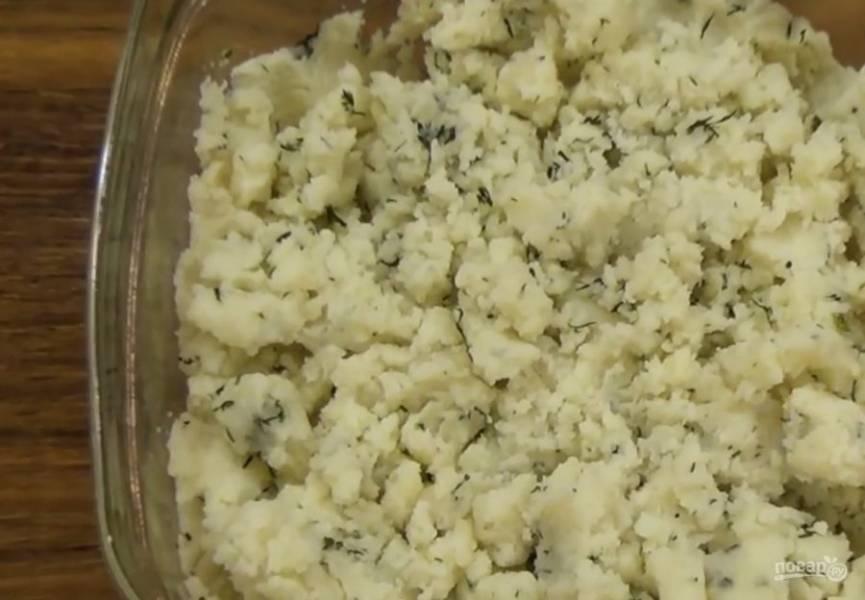 Кныши с картофелем - пошаговый рецепт