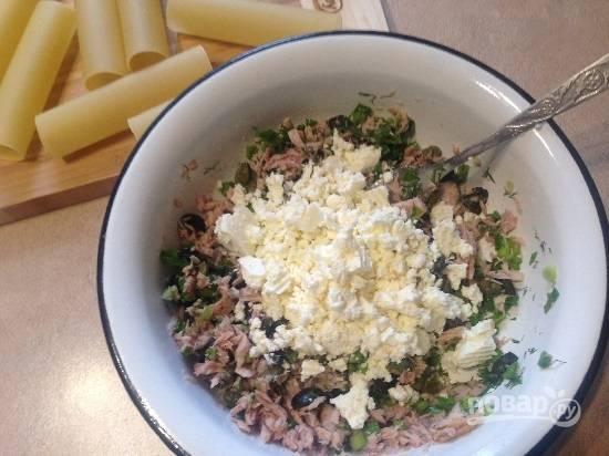Каннеллони с тунцом в помидорном соусе - пошаговый рецепт с фото на