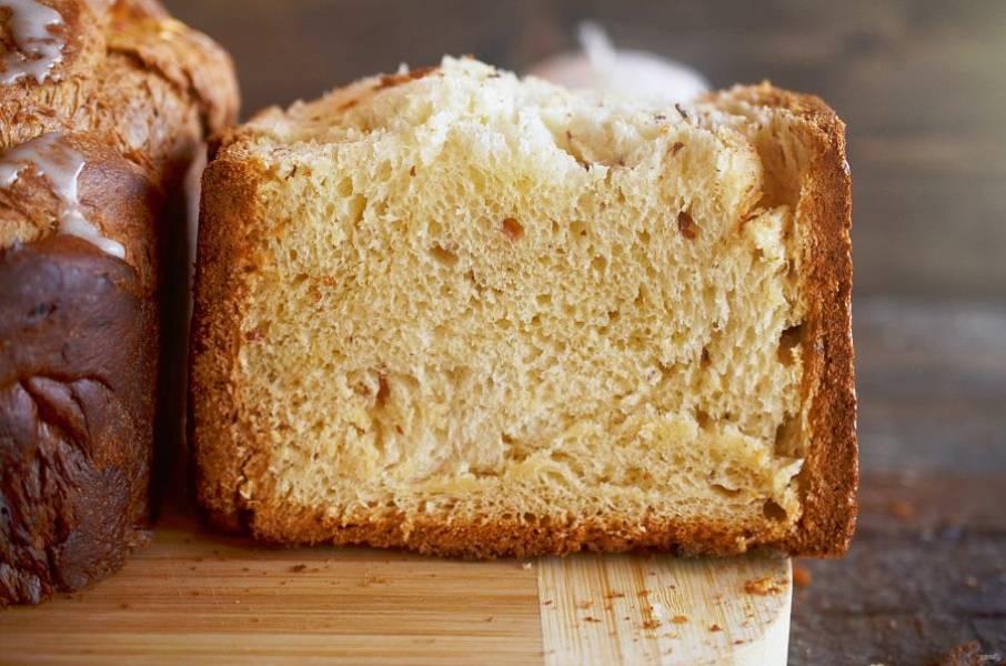 Кулич в хлебопечке - Панасоник - пошаговый рецепт с фото на