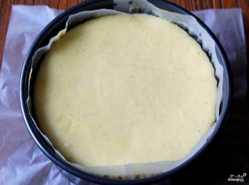 Ванильный чизкейк - пошаговый рецепт
