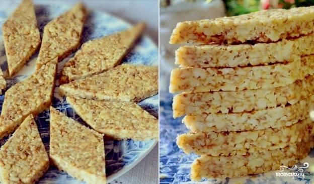 Козинаки из грецких орехов