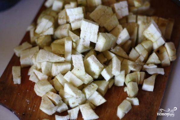 Суп из баклажанов - пошаговый рецепт