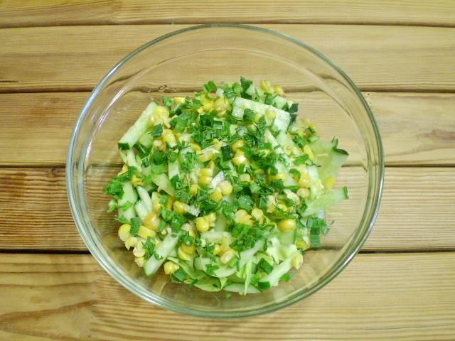 Салат - Летний - пошаговый рецепт с фото на