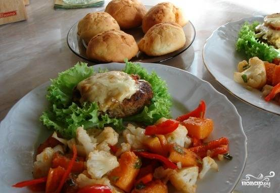Цветная капуста овощами рецепты фото