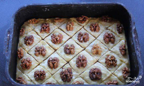 Пахлава медовая - пошаговый рецепт