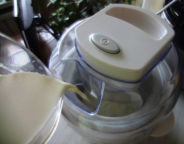 Домашнее мороженое в мороженице - пошаговый рецепт