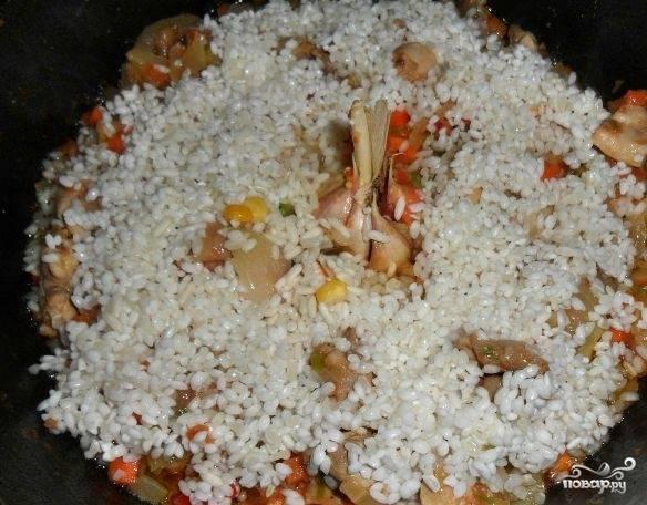 Испанская паэлья с курицей - пошаговый рецепт