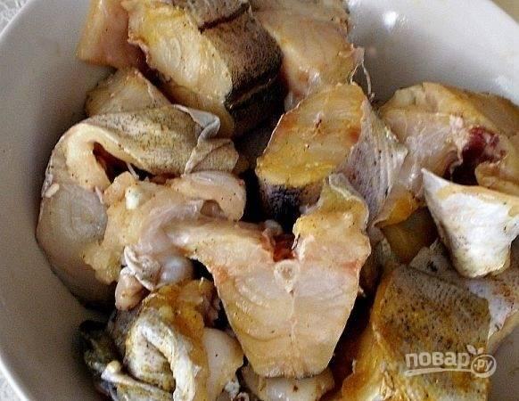 Рыба, тушенная с луком и сметаной - пошаговый рецепт