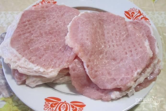Свиные отбивные в томатном кляре - пошаговый рецепт с фото на