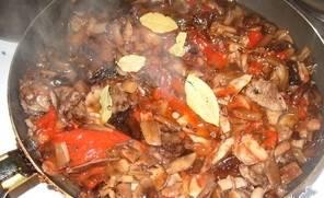 Маринованные опята в томатном соусе - пошаговый рецепт