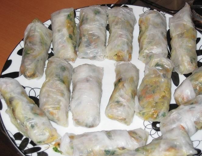 Вьетнамские блинчики - пошаговый рецепт