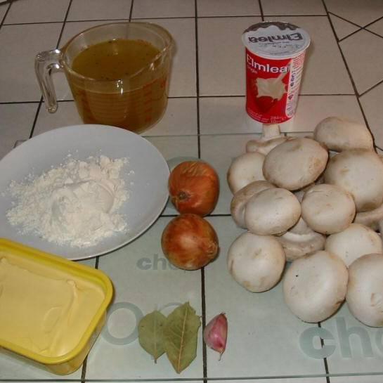 Ингредиенты для супа: