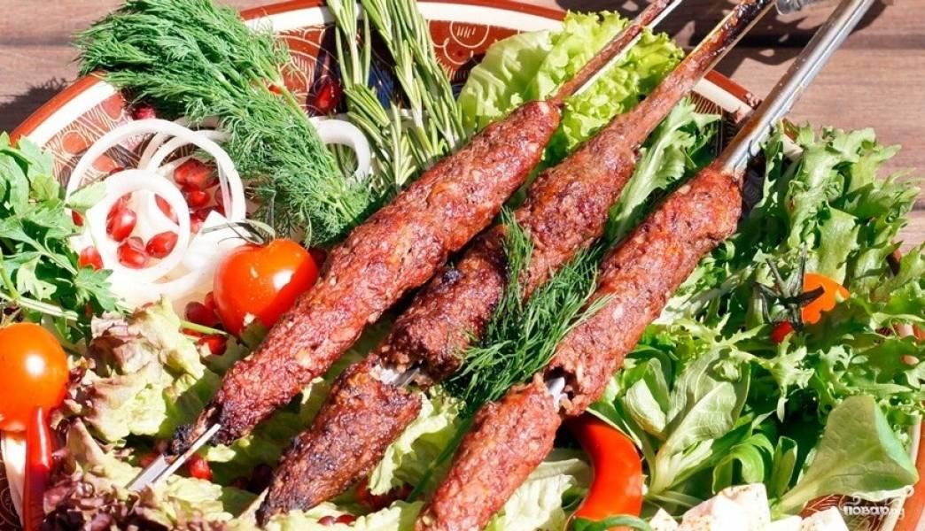 Люля-кебаб в тандыре