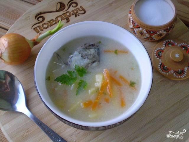 Суп из рыбных голов
