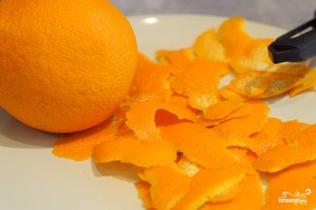 Утиная грудка с соусом из апельсинов