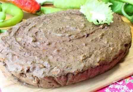 Печеночный пирог из куриной печени - пошаговый рецепт с фото на