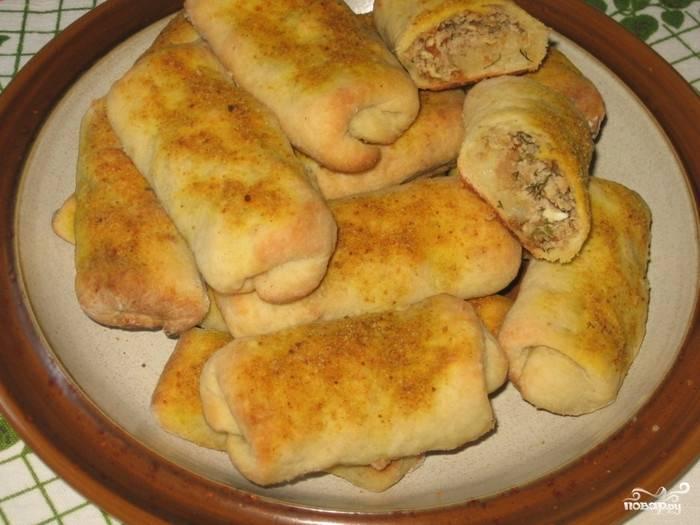 Картофельные рулетики с мясом - пошаговый рецепт