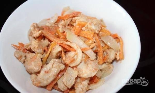 Курица Хе - пошаговый рецепт