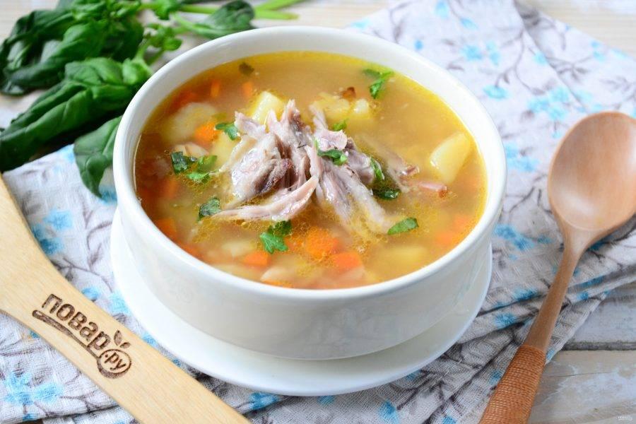 Гороховый суп - Осенний - пошаговый рецепт