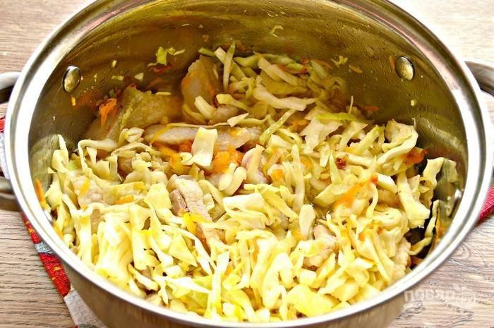 Солянка с капустой - пошаговый рецепт