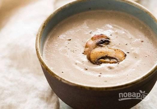 Грибной крем суп по-фламандски