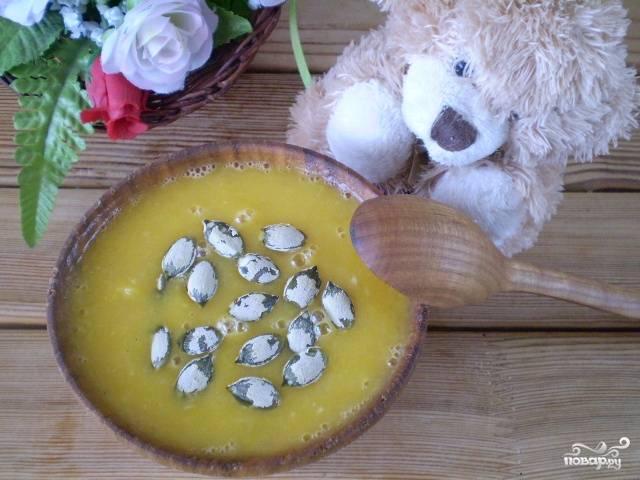 Суп из тыквы для ребенка