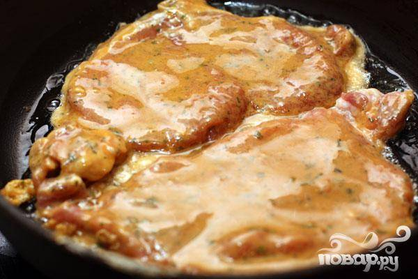 Свиная корейка в соевом кляре - пошаговый рецепт