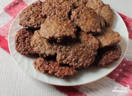 Печеночники с манкой - пошаговый рецепт