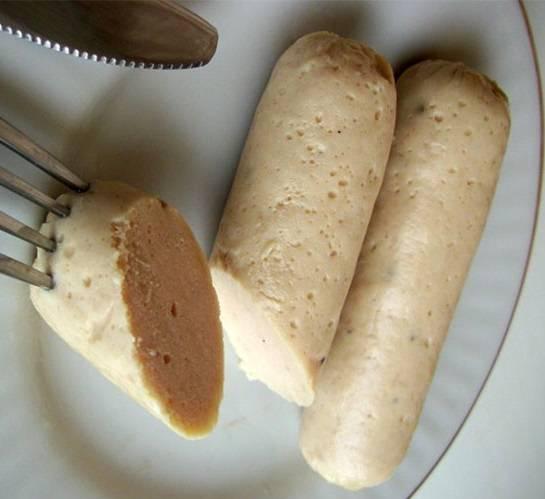 Домашняя колбаса из курицы - пошаговый рецепт