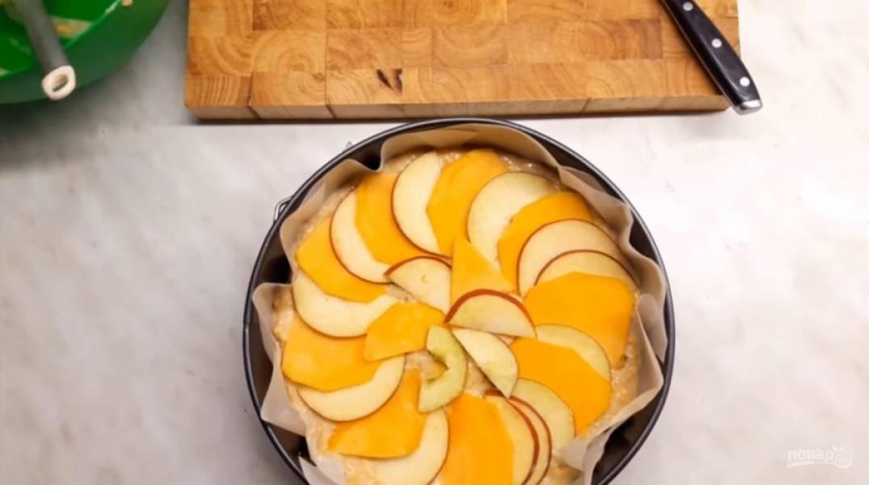 Пирог тыквенно-яблочный - пошаговый рецепт с фото на