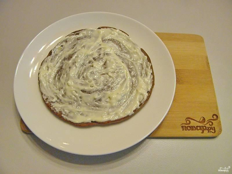 Печеночный торт из куриной печени - пошаговый рецепт