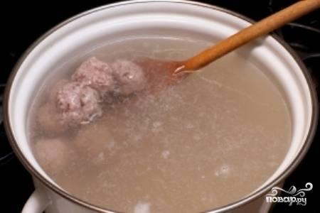 Фрикадельковый суп - пошаговый рецепт с фото на