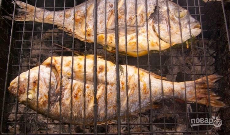 Рыба на решетке - пошаговый рецепт с фото на