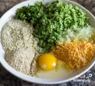 Котлеты из брокколи в духовке - пошаговый рецепт