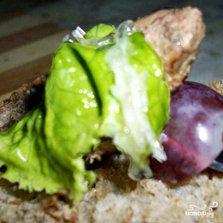 Салат с виноградом и куриной печенью - пошаговый рецепт с фото на