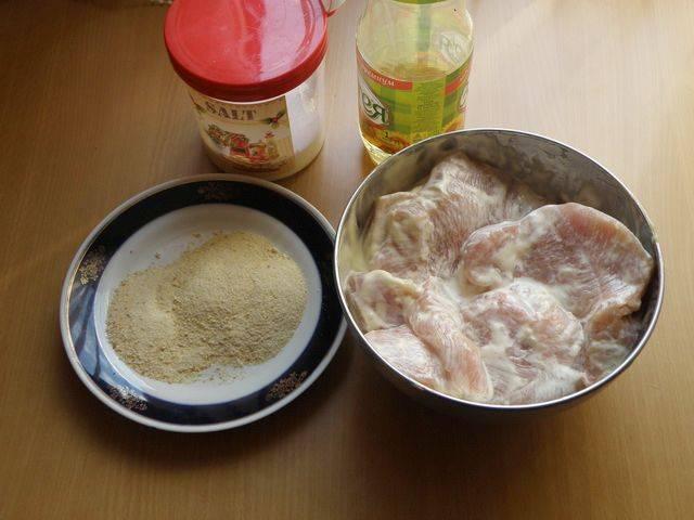 Отбивные в майонезе - пошаговый рецепт