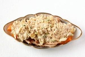 Салат с курицей и мандаринами - пошаговый рецепт с фото на