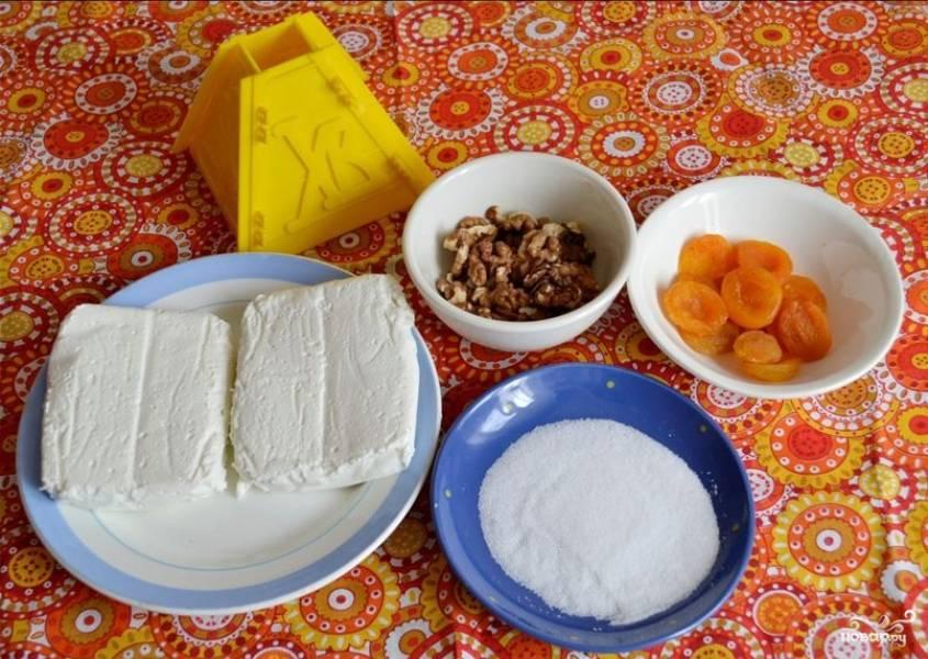 Пасха из обезжиренного творога - пошаговый рецепт с фото на