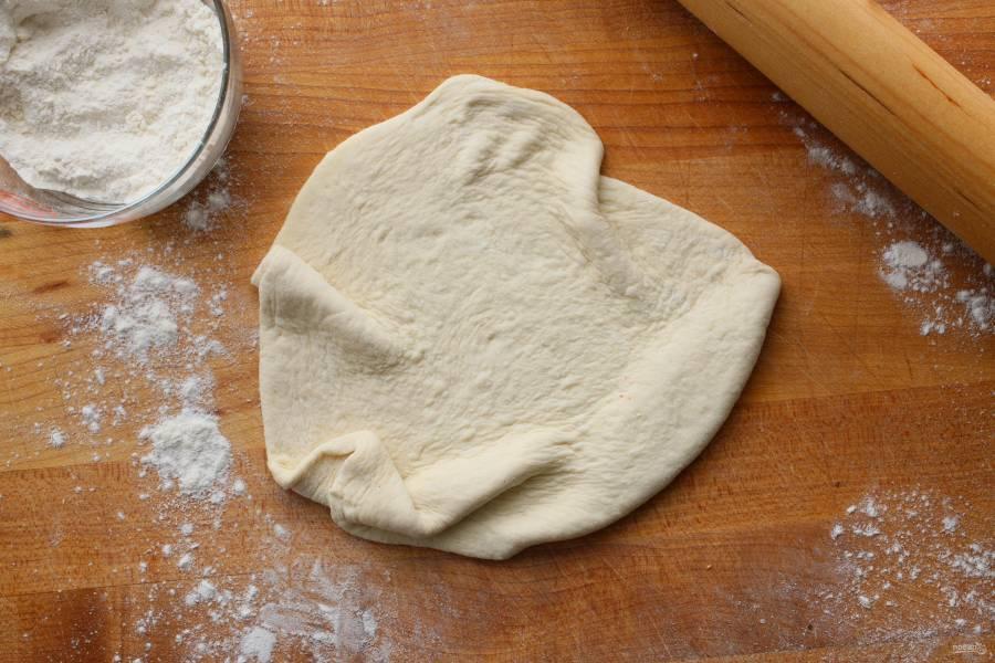 Тесто для тонкой пиццы