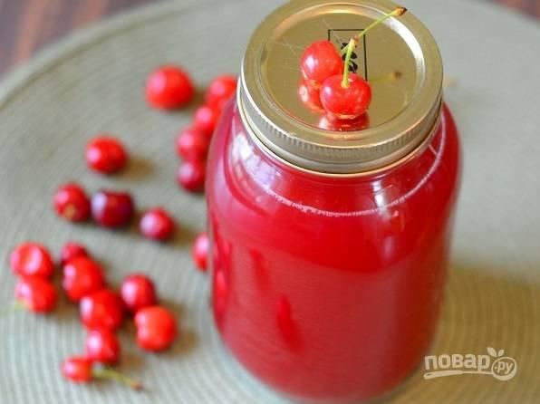Рецепт вишневого сока в домашних условиях 505