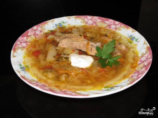 Щи со свининой в мультиварке - пошаговый рецепт
