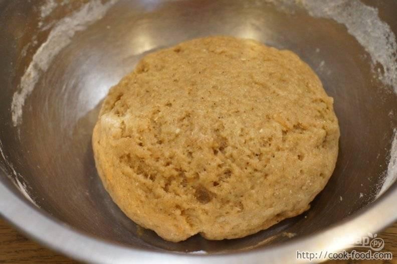 Печенье с овсяными хлопьями - пошаговый рецепт